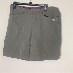 Mountain Hardwear Shorts - Mountain Hardwear Bermuda Grey Shorts 12